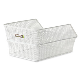 Basil Cento Bike Basket close-meshed S white